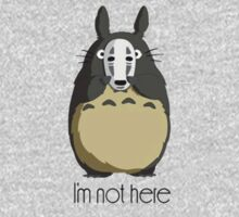 Totoro I'm not here One Piece - Long Sleeve