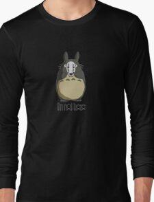 Totoro I'm not here Long Sleeve T-Shirt