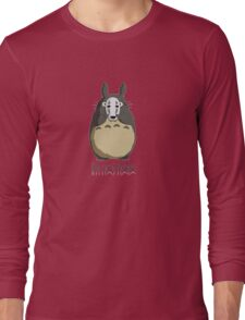 Totoro I'm not here Long Sleeve T-Shirt