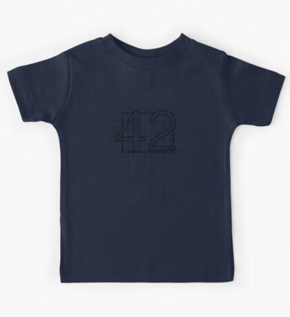 Hitchhiker's Guide to the Galaxy - 42 Kids Tee