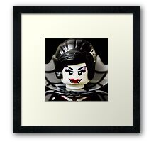 Lego Spider Lady minifigure Framed Print