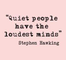 Quiet People Kids Tee