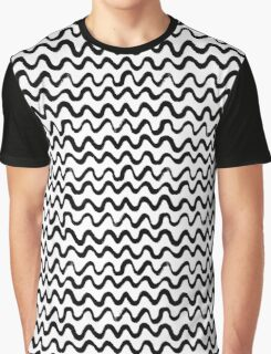 Inky waves Graphic T-Shirt