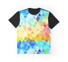 triangle pattern Graphic T-Shirt