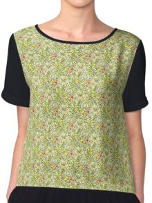 Golden Lily Women's Chiffon Top