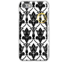 Sherlock smile wallpaper iPhone Case/Skin