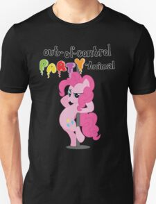 Out-of-control Party-Animal - with text T-Shirt