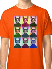 Frankenstein Pop Art Classic T-Shirt
