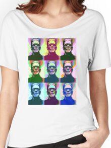 Frankenstein Pop Art Women's Relaxed Fit T-Shirt