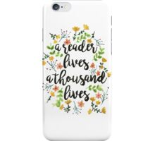 A Thousand Lives  iPhone Case/Skin