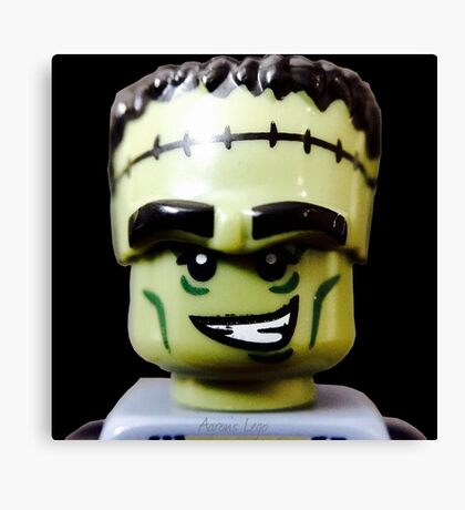 Lego Monster Rocker minifigure Canvas Print