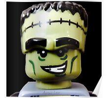 Lego Monster Rocker minifigure Poster