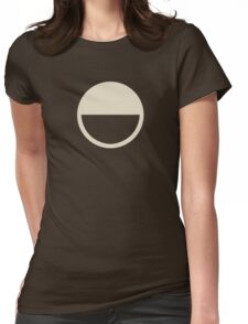 Half Full - Half Void Womens Fitted T-Shirt