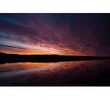 Beautiful dawn on Lake William Photographic Print