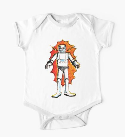 classic sci-fi robot Kids Clothes