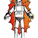 classic sci-fi robot by Megatrip