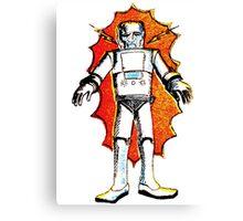 classic sci-fi robot Canvas Print