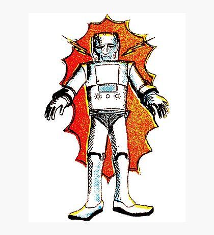 classic sci-fi robot Photographic Print