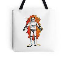classic sci-fi robot Tote Bag