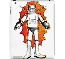 classic sci-fi robot iPad Case/Skin