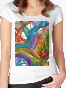 L'arbre Women's Fitted Scoop T-Shirt