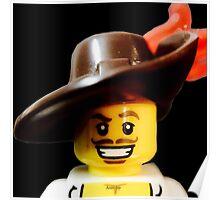 Lego Swashbucker minifigure Poster