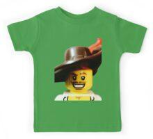 Lego Swashbucker minifigure Kids Tee