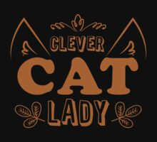 Clever cat lady Baby Tee