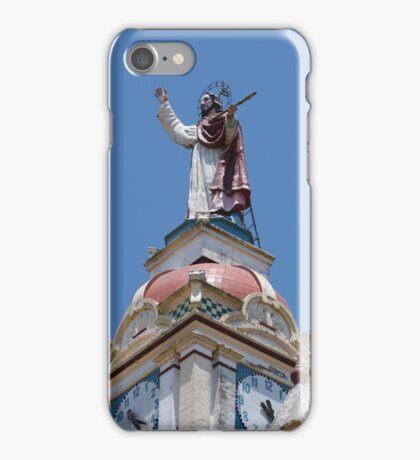 Sculpture on the Matriz Church iPhone Case/Skin