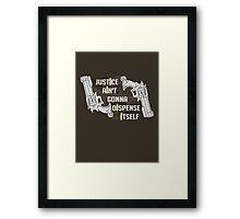 Justicree Framed Print