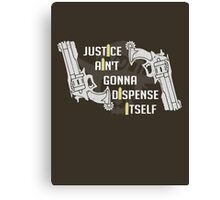 Justicree Canvas Print