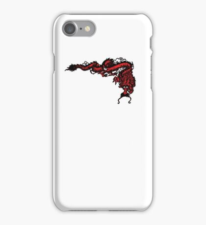 1970's Kung Fu Dragon  iPhone Case/Skin