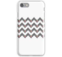 Twin Peaks Chevron iPhone Case/Skin