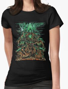 Necron Overlord Womens Fitted T-Shirt