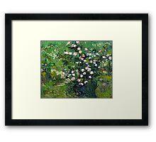 Vincent van Gogh Roses Framed Print