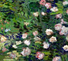 Vincent van Gogh Roses Sticker