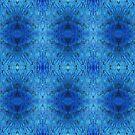 Peacock blue by Lee Jones
