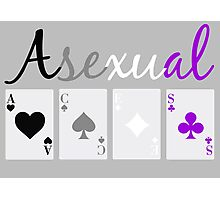 Asexual ACES Photographic Print