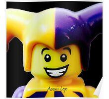 Lego Jester minifigure Poster
