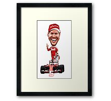Sebastian Vettel  Framed Print