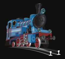 Cartoon Tank Engine Baby Tee