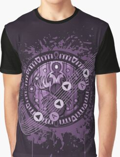 Zelda Majora's Mask Clock Song of Time Graphic T-Shirt