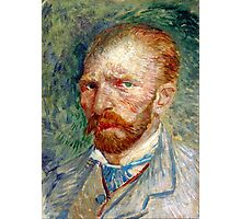 Vincent van Gogh Self-Portrait Photographic Print