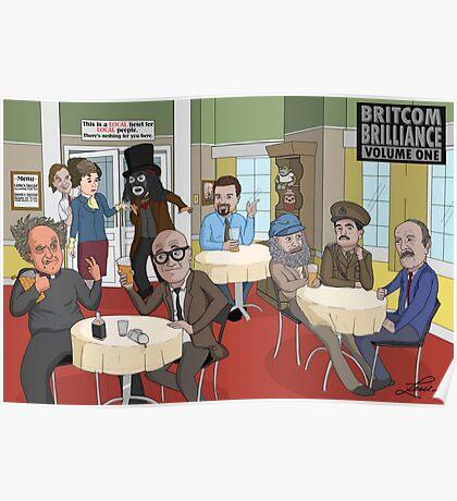 'BritCom Brilliance' Poster