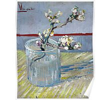 Vincent van Gogh Spring Flowering Almond in a Glass Poster