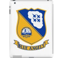Blue Angels Insignia iPad Case/Skin