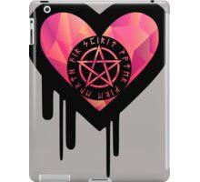 Okkult Wicca Grunge Heart iPad Case/Skin