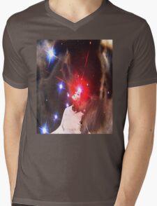STAR DREAMER Mens V-Neck T-Shirt