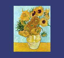 Vincent van Gogh Still Life Vase with Twelve Sunflowers Unisex T-Shirt