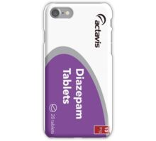 diazepam valium iPhone Case/Skin